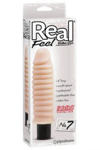 Вибратор real feel №7, живое тело