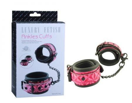 Оковы Ankles Cuffs ЕК-3105 розовые