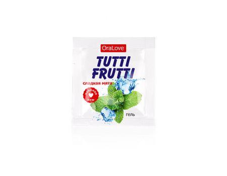 Оральный гель Tutti-Frutti oralove Сладкая мята 4 гр.