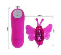 Вибростимулятор бабочка BI-014198