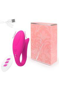 Вибромассажер розовый 0097