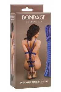 Веревка BONDAGE COLLECTION BLUE 1041-02