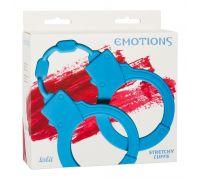 Силиконовые наручники Stretchy Cuffs Turquoise 4008-03