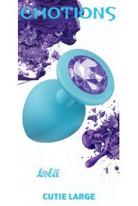 Анальная пробка emotions purple crystal 4013-04